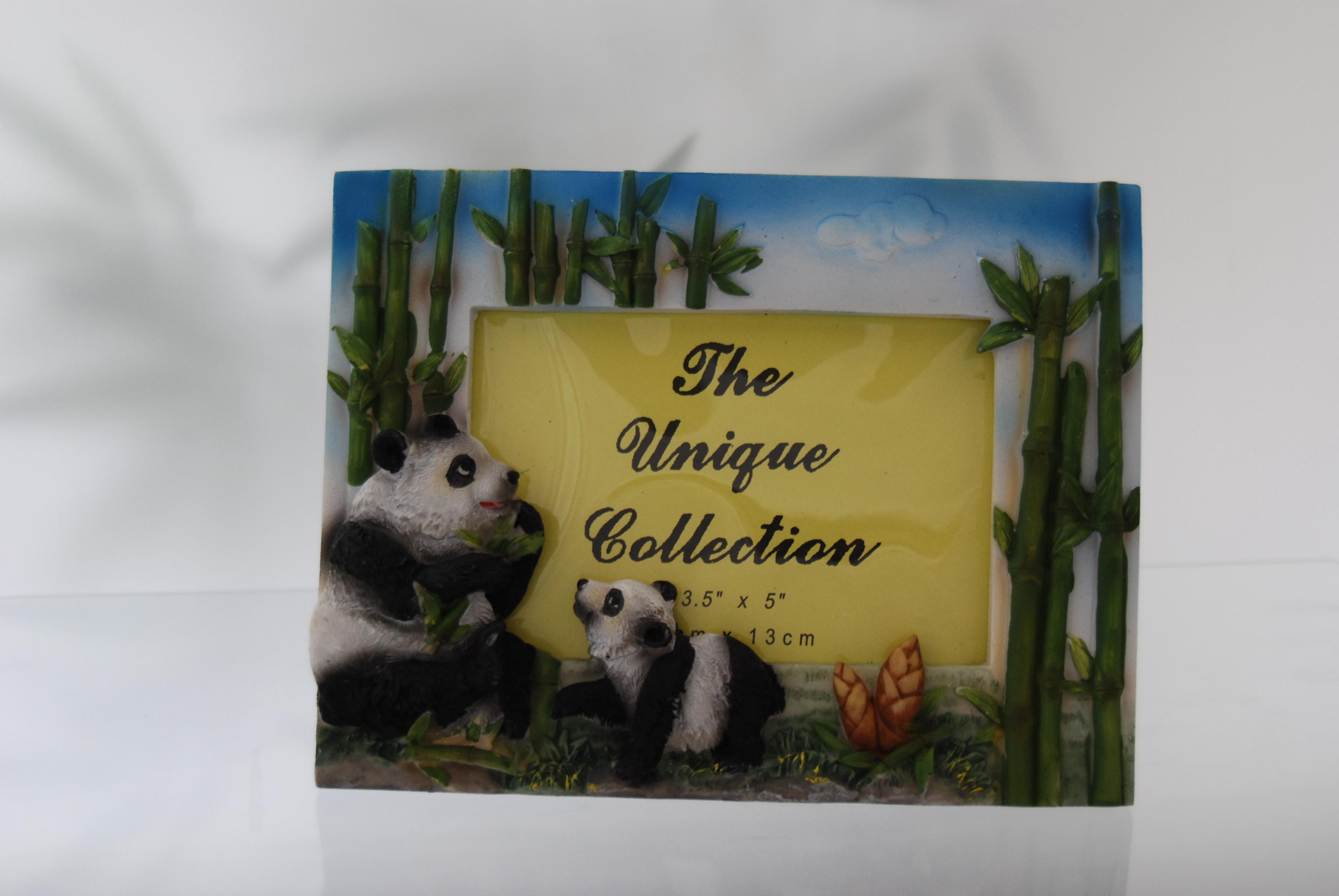Giant Panda Friends International - Bilderrahmen Panda in 3D-Optik ...